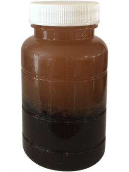 Diesel from a Backup Generator Storage Tank